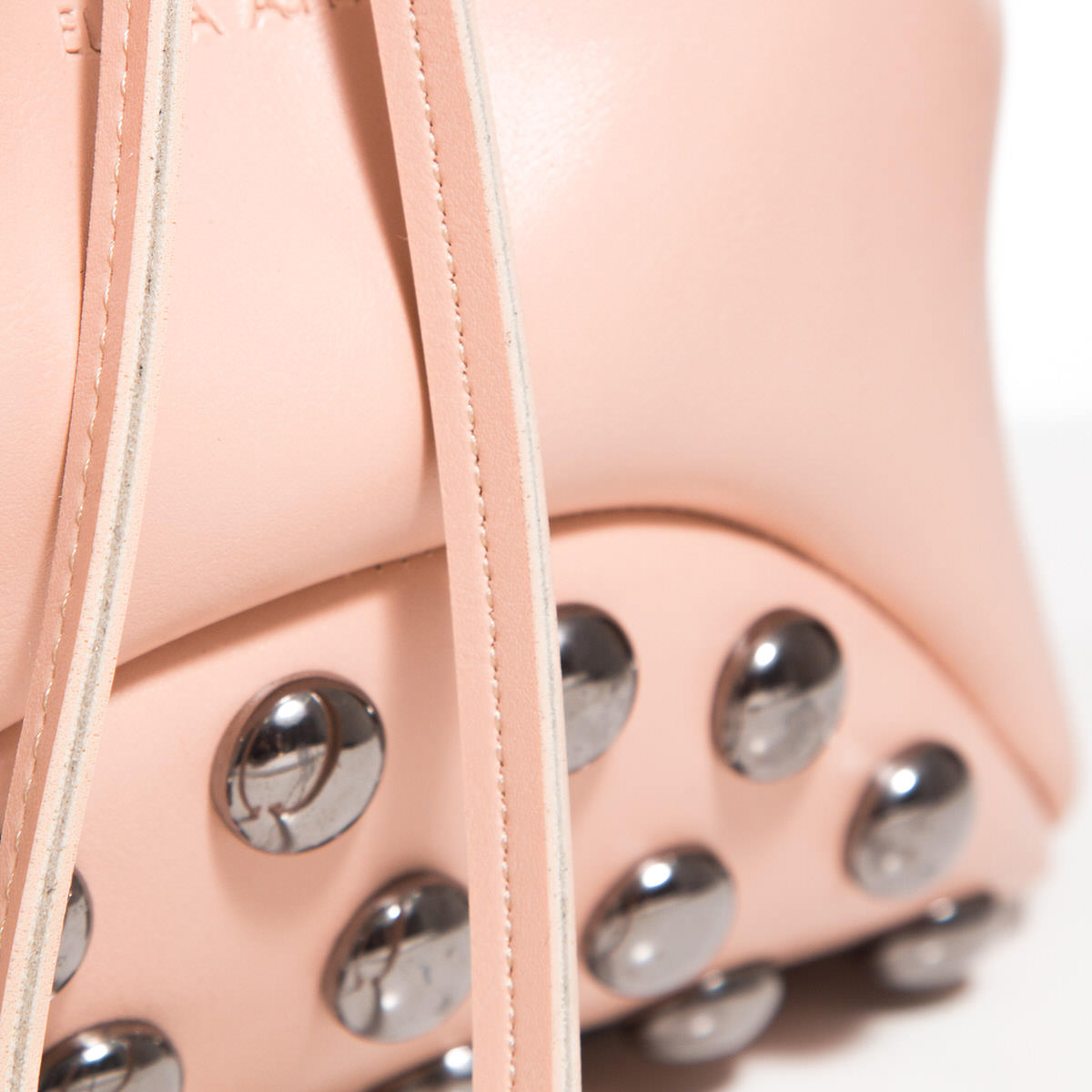Pouch Bag Fresh Baby Pink Elena Athanasiou Leather Bags