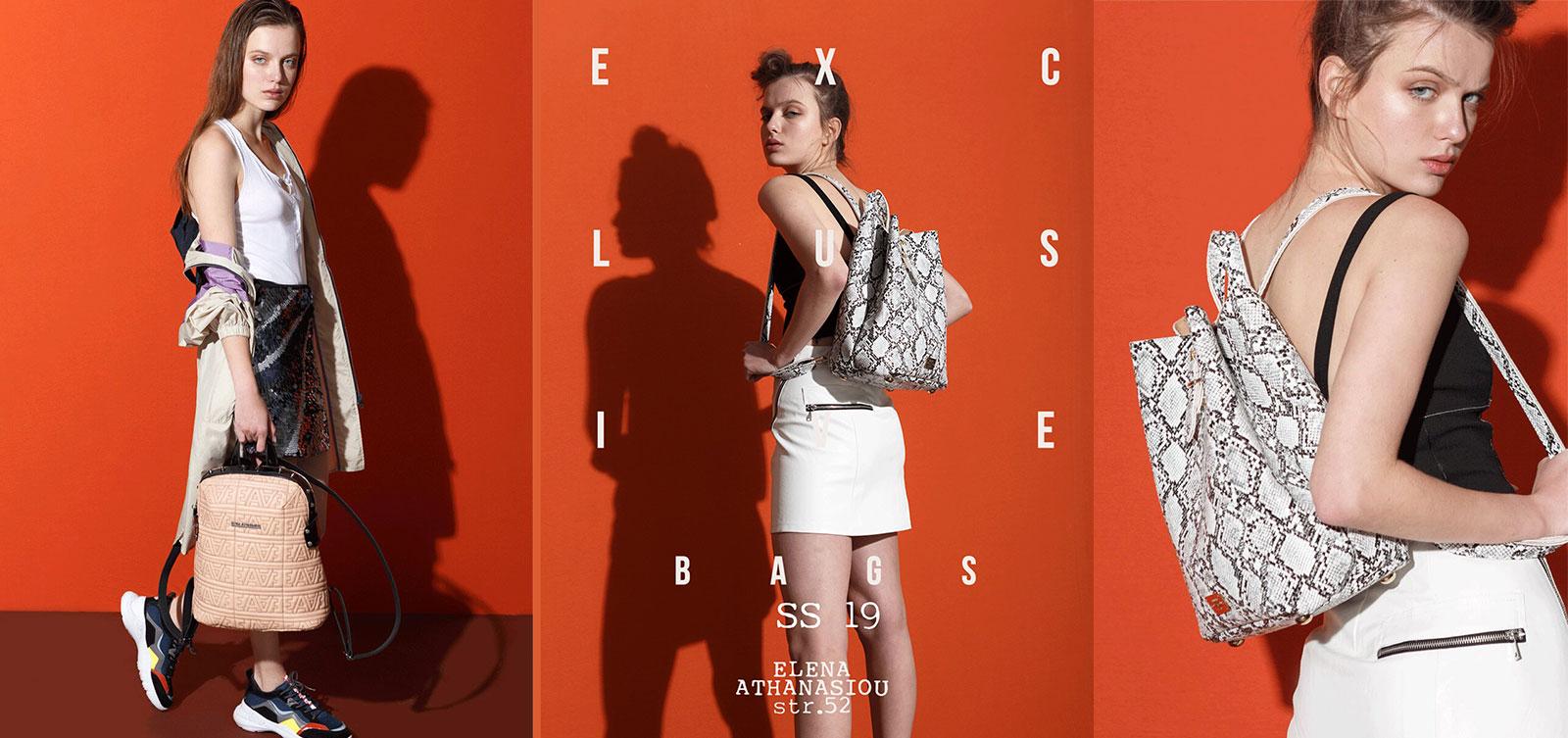 elena athanasiou bags lookbook ss19