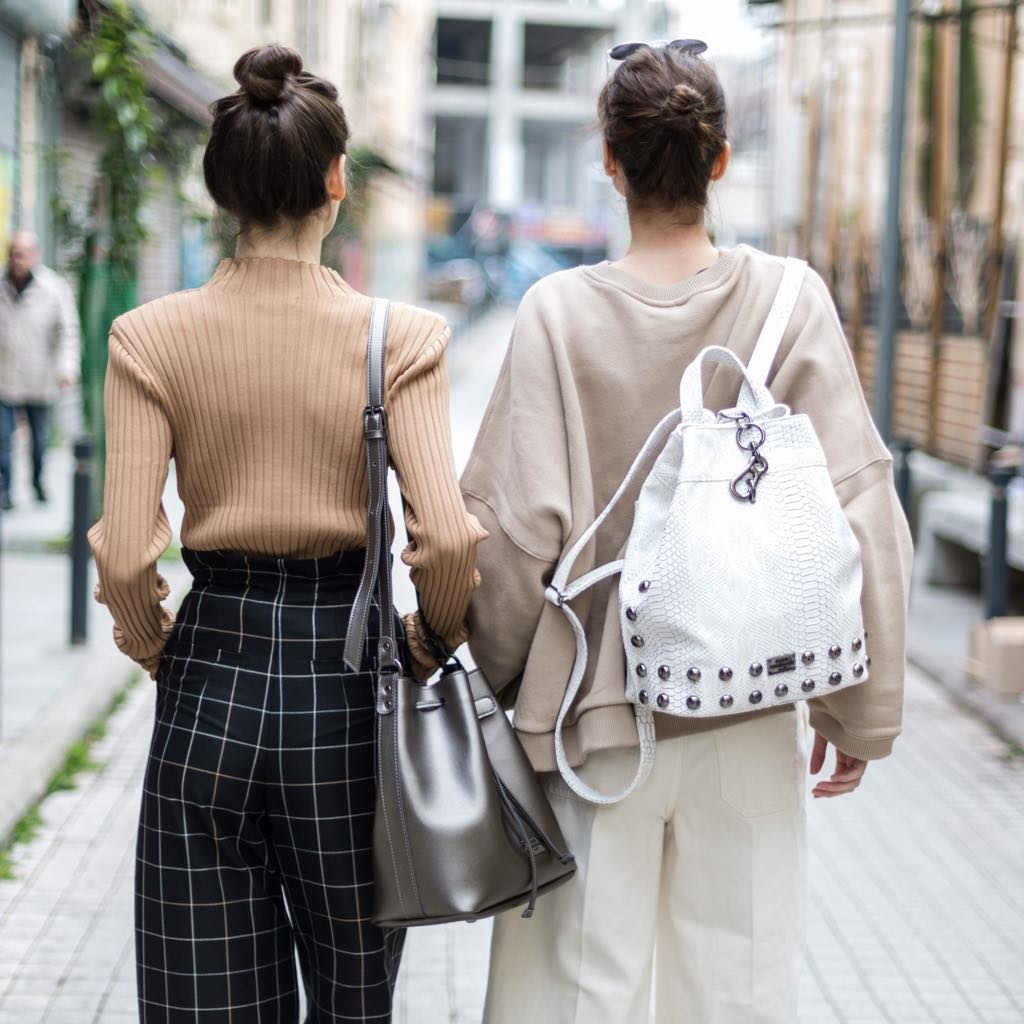 basic lines elena athanasiou bags leather bags γυναικειες δερματινες τσαντες