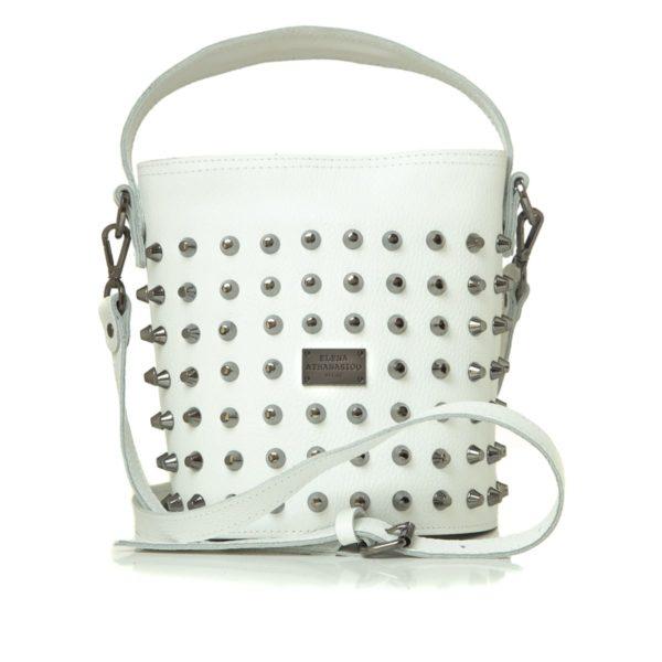 Elena Athanasiou Bags Basket White Large