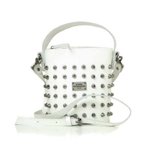 Elena Athanasiou Bags Basket White Small
