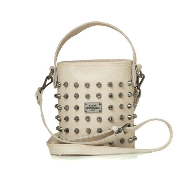 Elena Athanasiou Bags Basket Sand Small