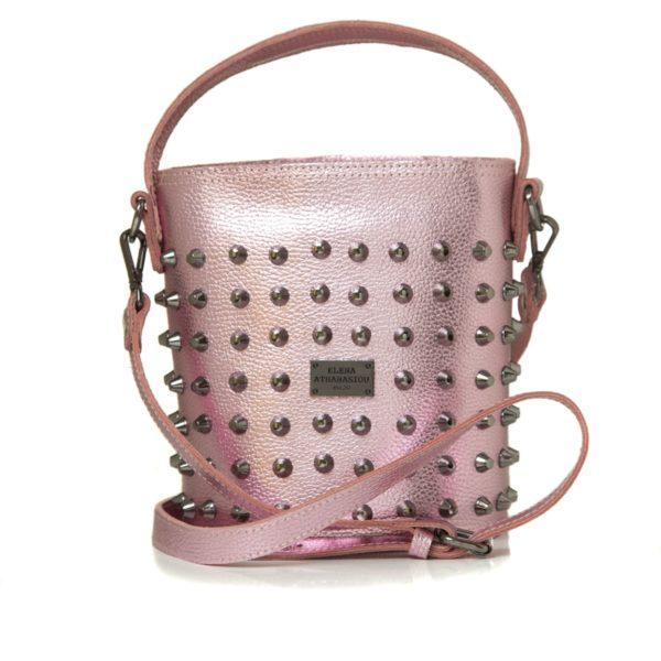 Elena Athanasiou Bags Basket Party Pink Large