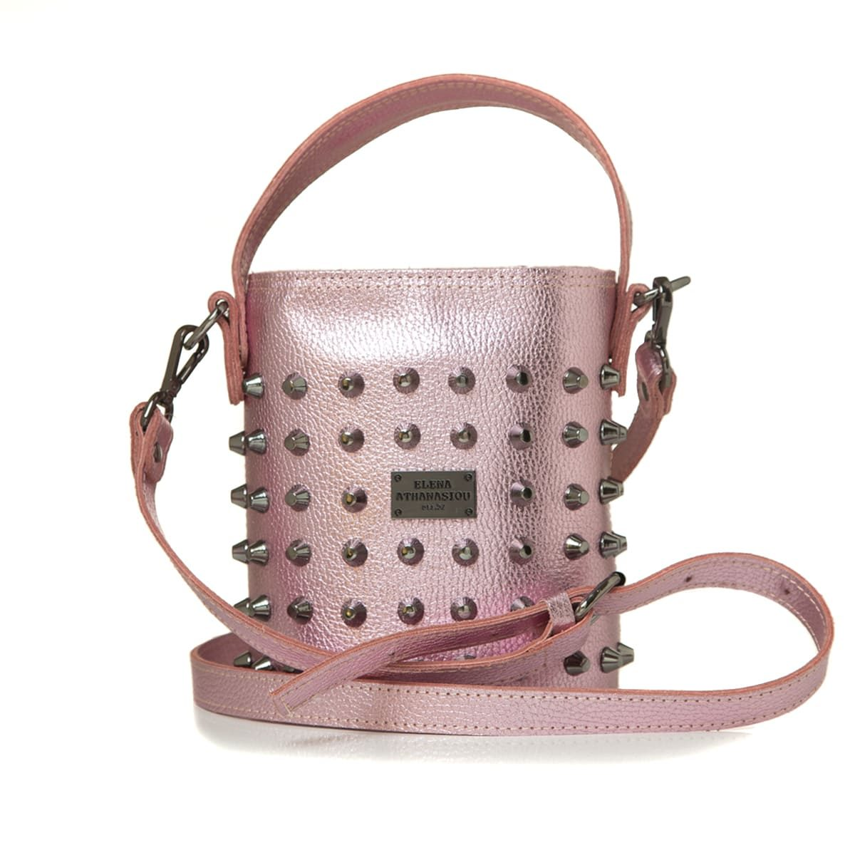 Elena Athanasiou Bags Basket Party Pink Small