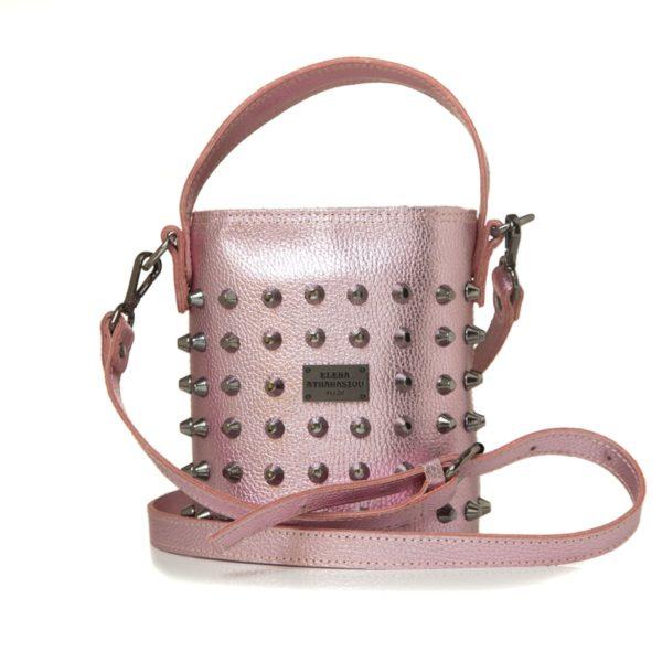Elena Athanasiou Bags Basket Party Pink Small