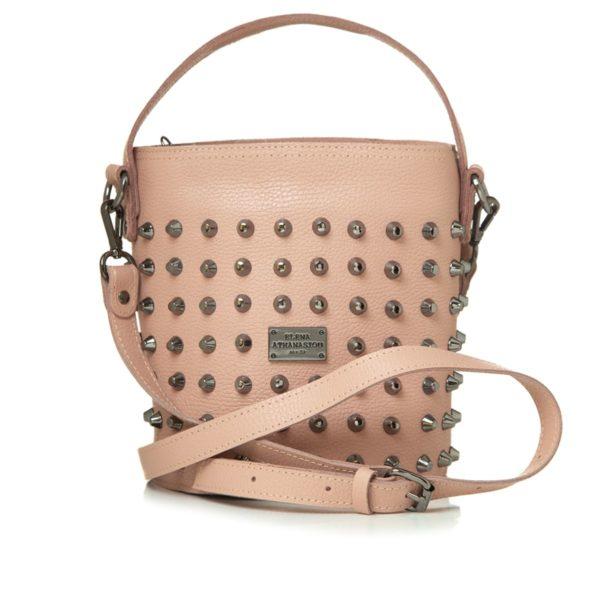 Elena Athanasiou Bags Basket Nude Large