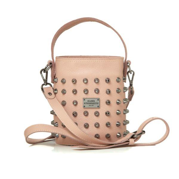 Elena Athanasiou Bags Basket Nude Small