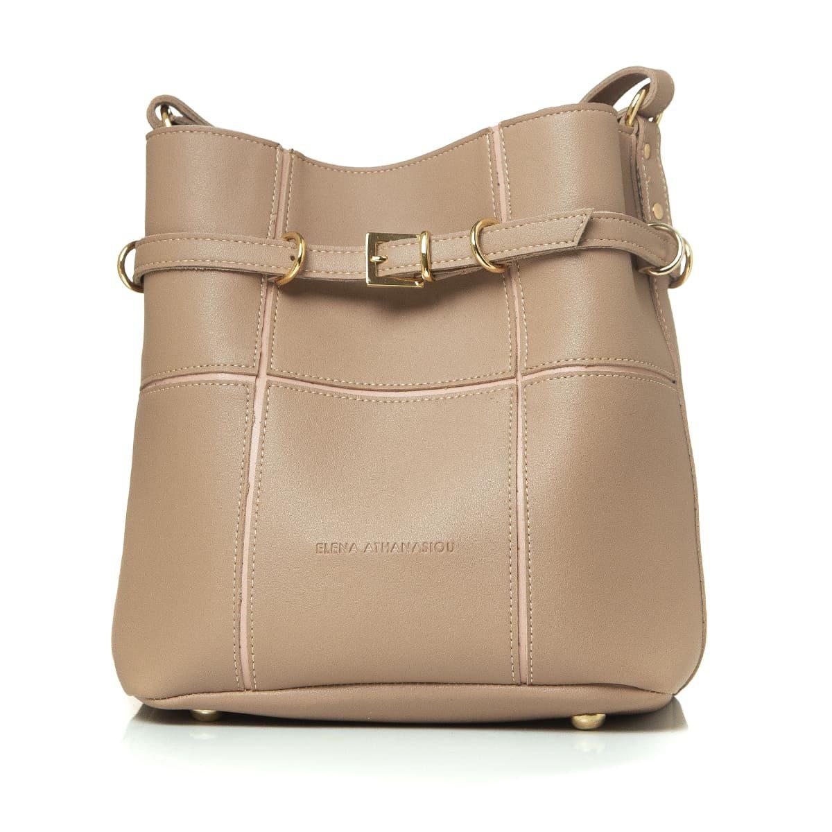 Elena Athanasiou Bags Puzzle Bag Havana L Size