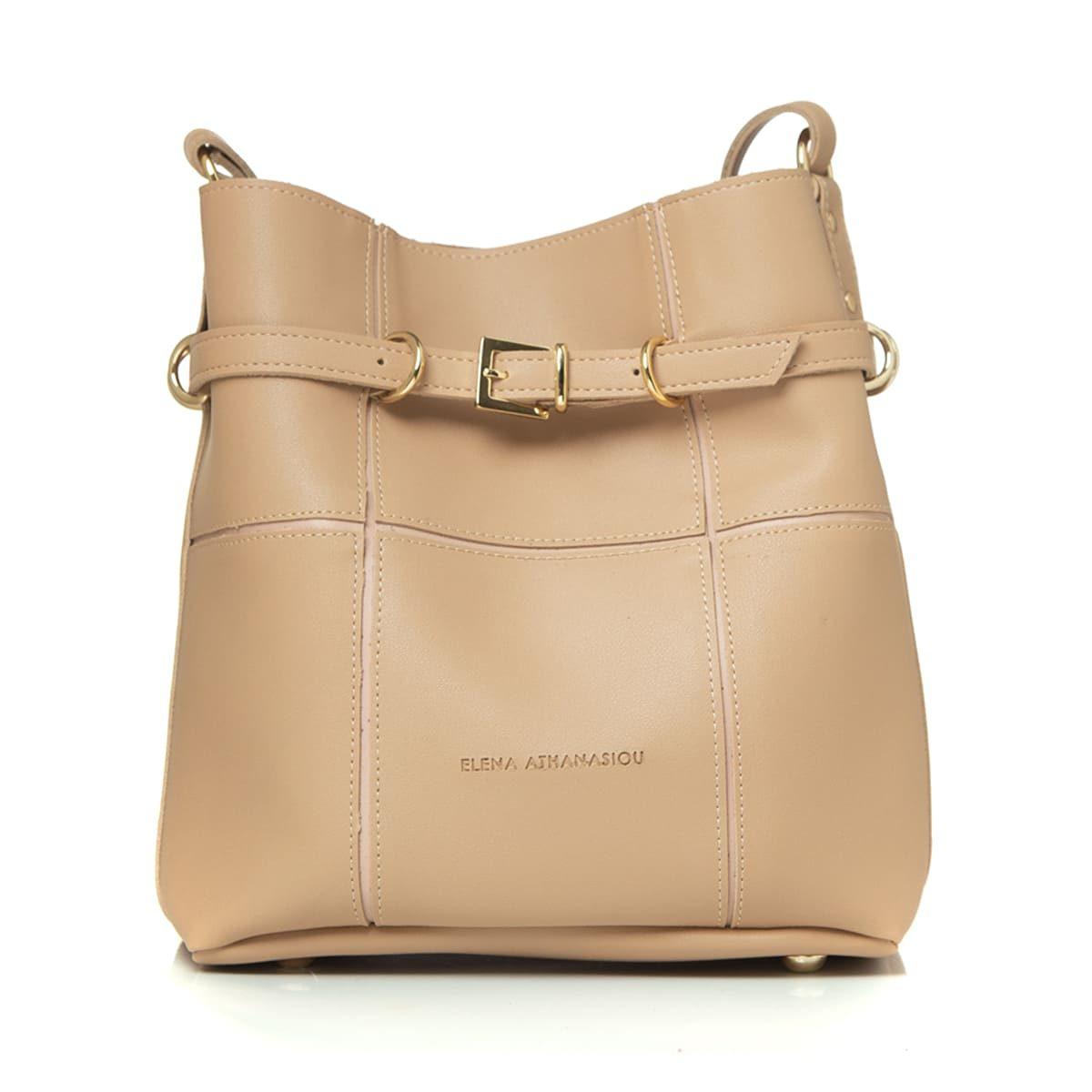 Elena Athanasiou Bags Puzzle Bag Vachetta L Size