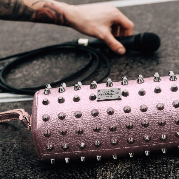Casket Party Pink elena athanasiou bags