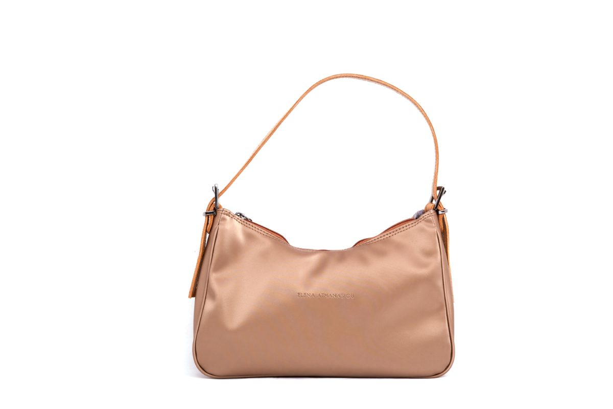 Vintage Baguette Shiny Gold   Elena Athanasiou Bags