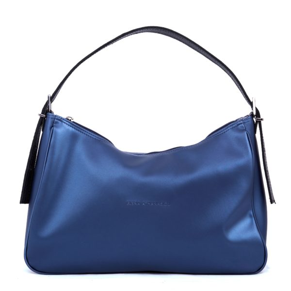 Vintage Baguette Metallic Blue XL | Elena Athanasiou Bags | Not The Ordinary FW21 Collection