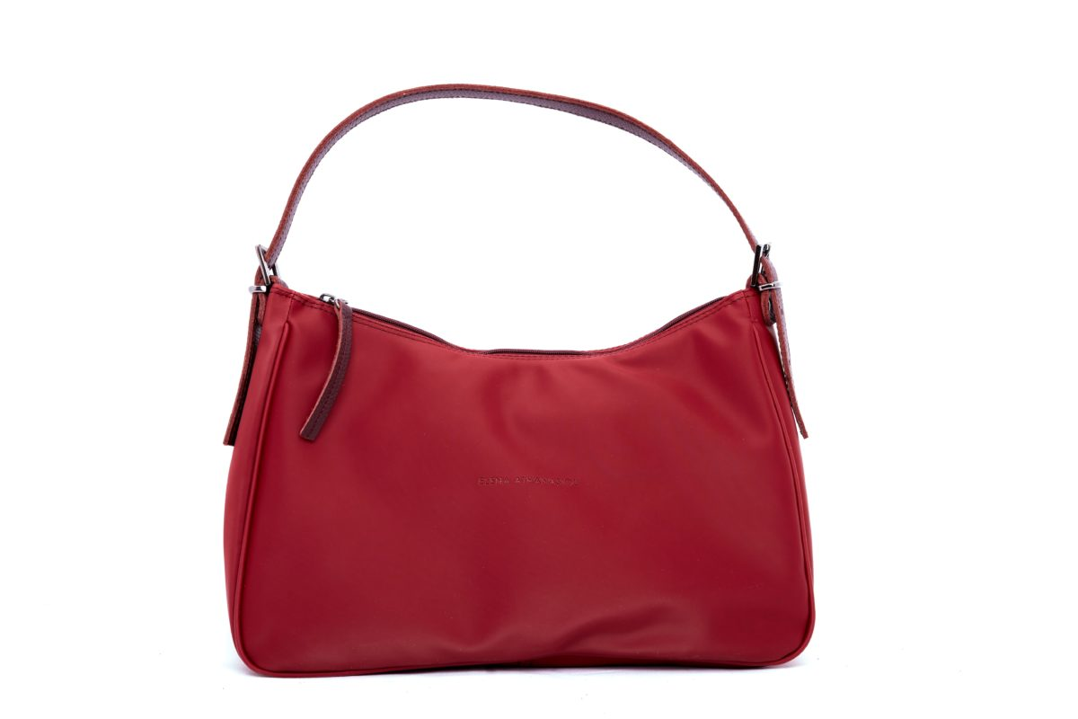 Vintage Baguette Burgundy XL | Elena Athanasiou Bags | Not The Ordinary FW21 Collection