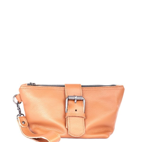 Day to Evening Clutch Cognac   Elena Athanasiou Bags   Not The Ordinary FW21 Collection