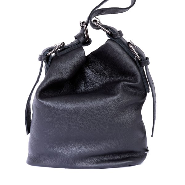 Day to Evening Pouch Bag L Black | Elena Athanasiou Bags | Not The Ordinary FW21 Collection