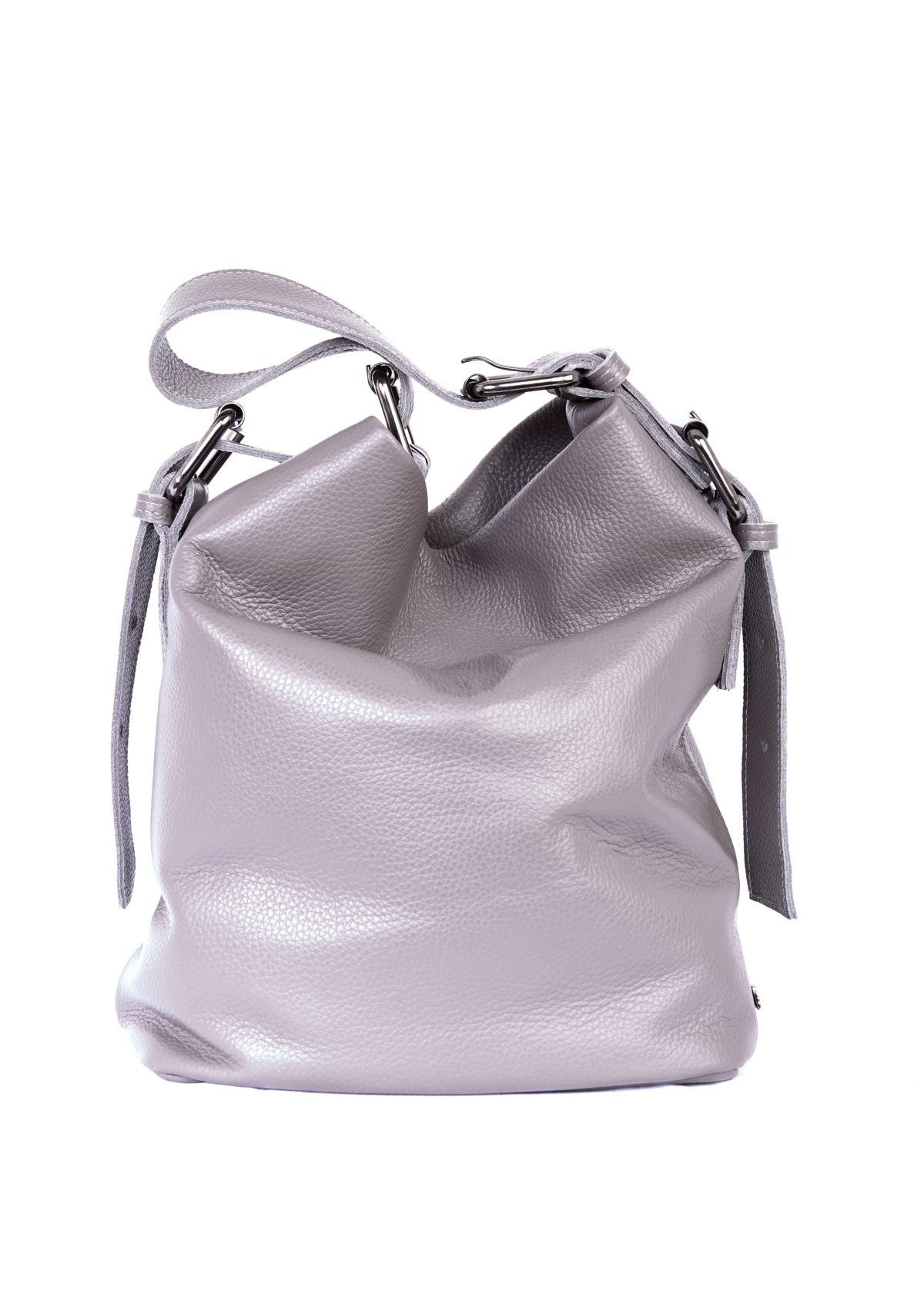 Day to Evening Pouch Bag L Grey | Elena Athanasiou Bags | Not The Ordinary FW21 Collection