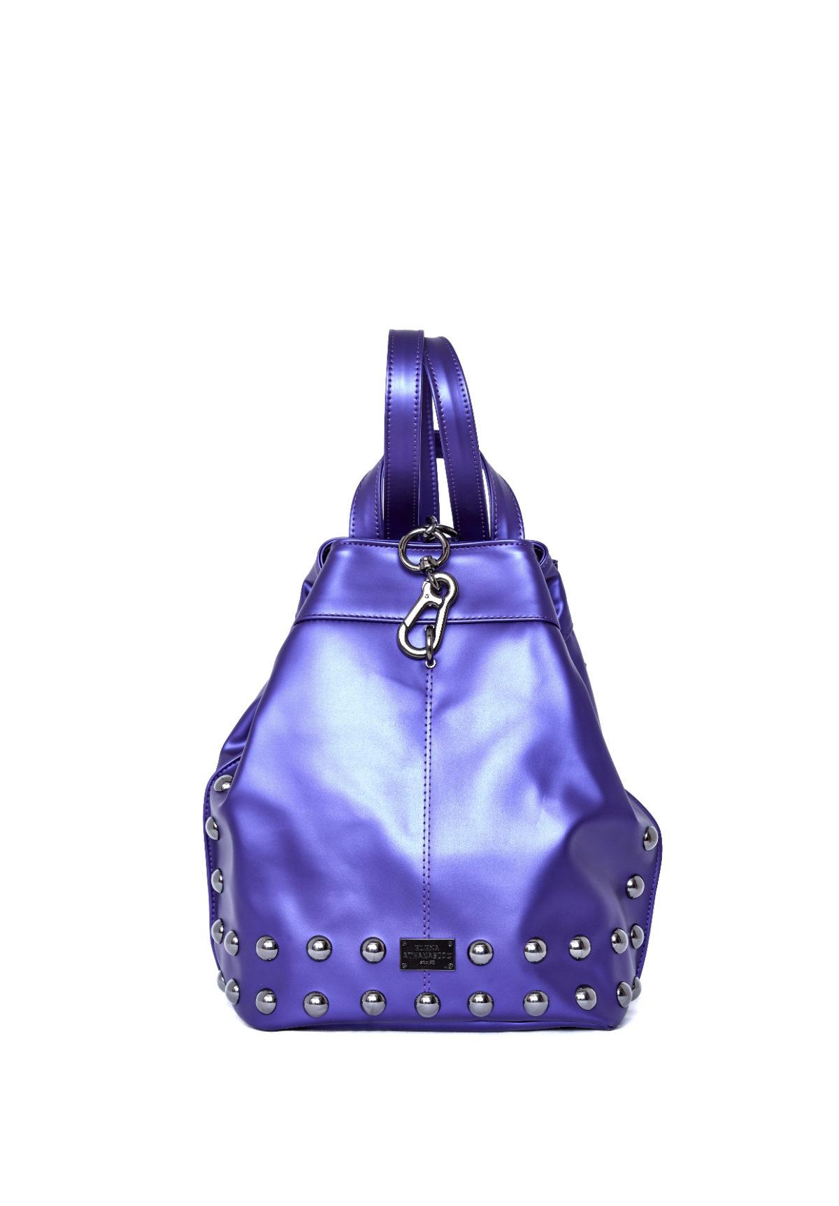 elena athanasiou bags backpack electric purple