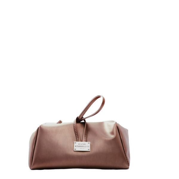 elena athanasiou bags lunchbag rose gold