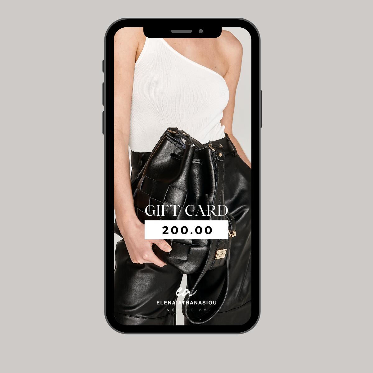 200€ Elena Athanasiou Bags Gift Card