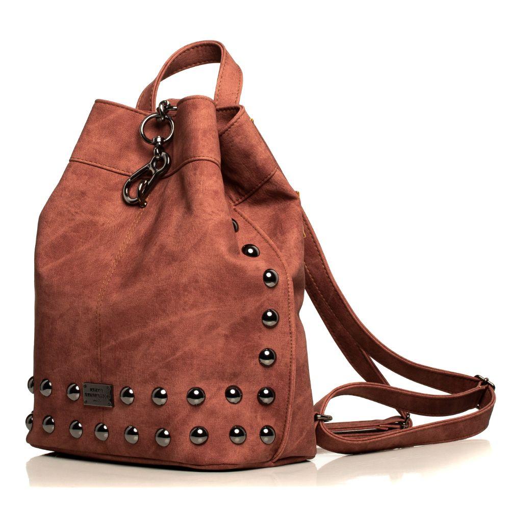 Backpack Jean Pattern PINK