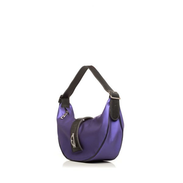 Vegan Baguette Purple Elena Athanasiou Bags