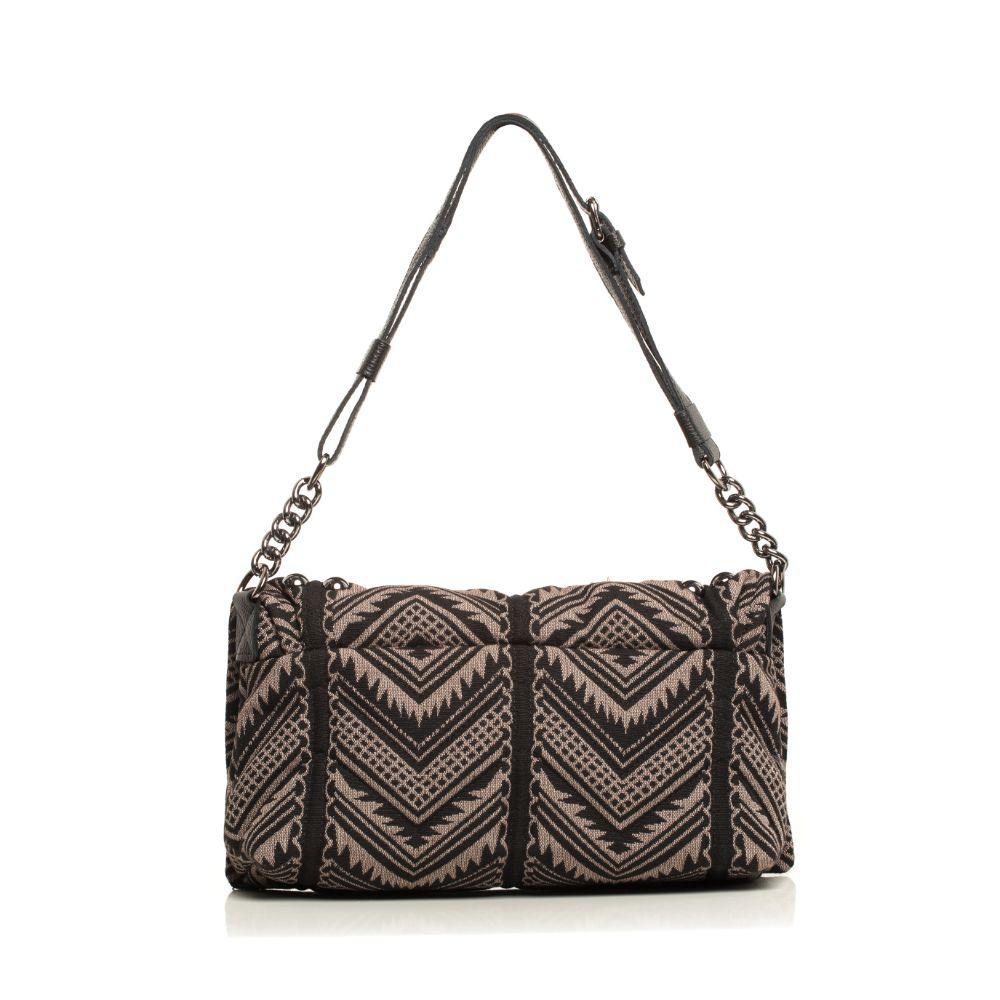 Indie Chain Pillow Bag Mocha Elena Athanasiou Bags