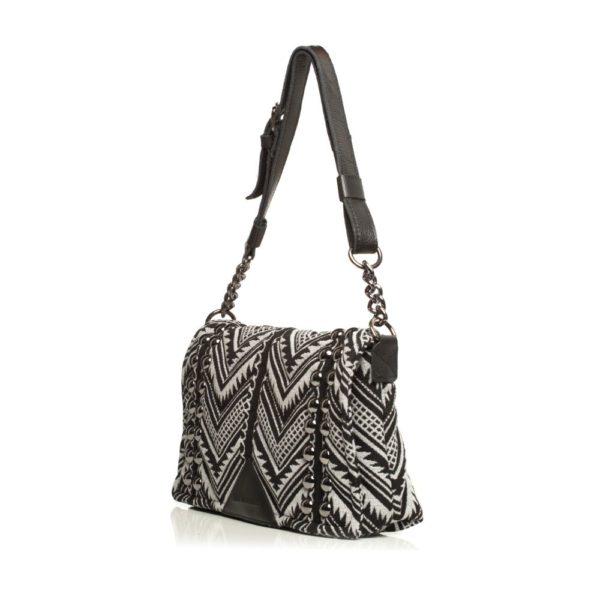 Indie Chain Pillow Bag Elephant Grey Elena Athanasiou Bags