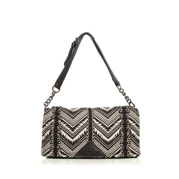 Indie Chain Pillow Bag Beige Elena Athanasiou Bags