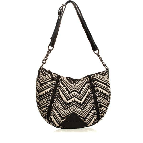 Indie Chain Moon Bag Beige Elena Athanasiou Bags
