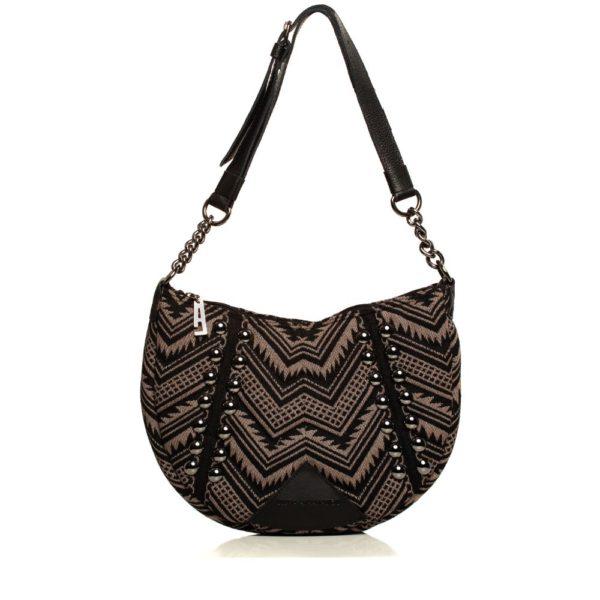 Indie Chain Moon Bag Mocha Elena Athanasiou Bags.